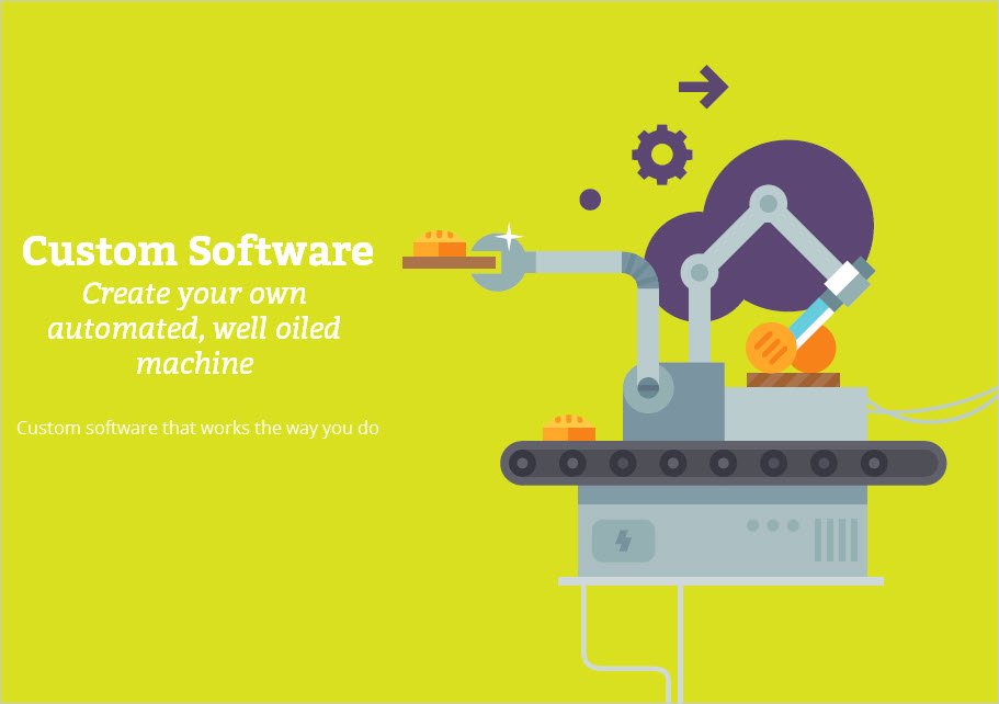 Custom Software - Create your own well oiled machine