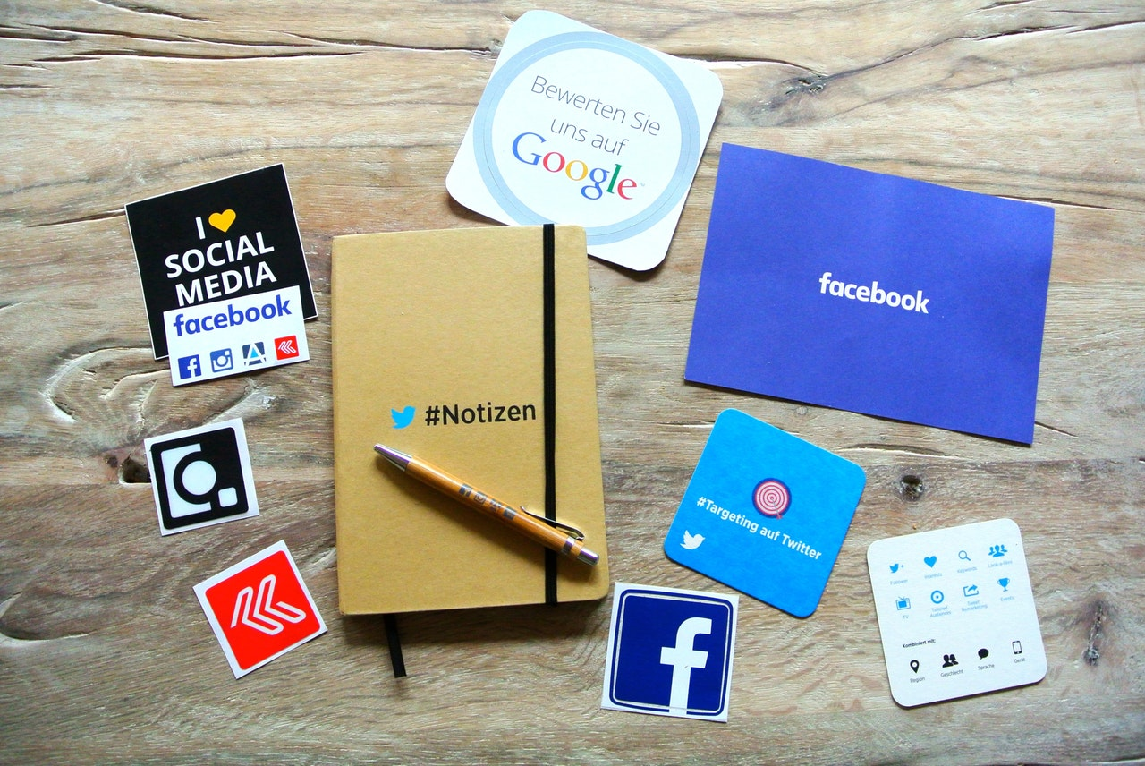Social media stickers